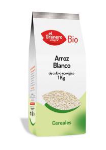 Arroz blanco El Granero Integral 1kg.