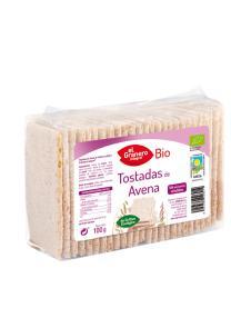 Bio tostadas de avena El Granero Integral 100g.