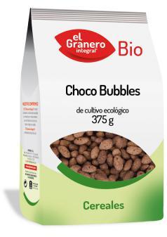 Choco Bubbles bio El Granero Integral 375g.