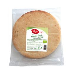 Base pizza espelta y quinoa bio 300 gr (2 x 150 gr)