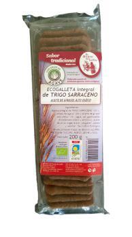 Galletas trigo sarraceno El Horno de Leña