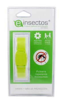 Pulsera repelente antimosquitos Einsectos