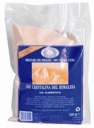 Sal del himalaya Madal Bal 500g.