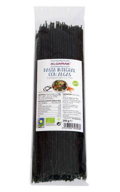 Espaguetis con algas Algamar 250g.