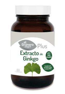 Extracto de Ginkgo El Granero Integral 60 comprimidos