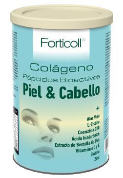 Colágeno bioactivo piel y cabello Forticoll 270g.
