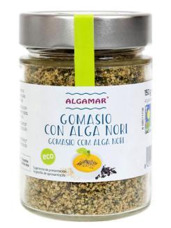 Gomasio con alga nori Algamar 130g.