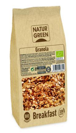 Granola sin gluten bio Naturgreen