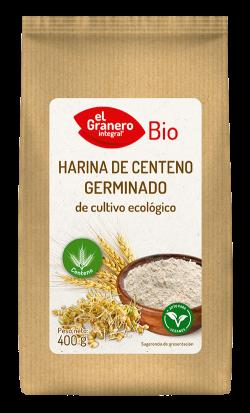 Harina de centeno germinado bio El Granero Integral