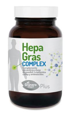 Hepagras complex El Granero Integral 75 cápsulas 615 mg.