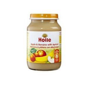 Potito manzana, plátano y albaricoque eco 190g. (>6 meses)