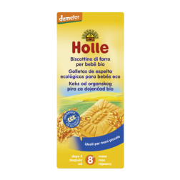 Galletas de espelta Holle 150g, (>8 meses)