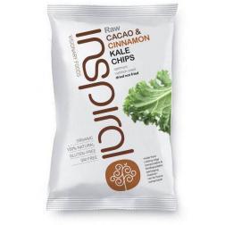 Kale chips de Cacao y Canela Inspiral 30g.