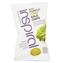 kale chips de Maíz Morado Inspiral 30g.