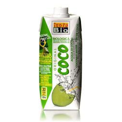 Agua de coco bio Isola 500ml.