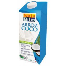 Bebida de arroz coco Isola 1l. (Pack 11 + 1)