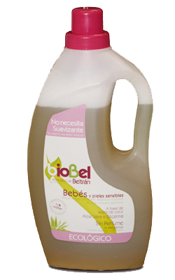 Detergente para bebés Biobel 1,5l.