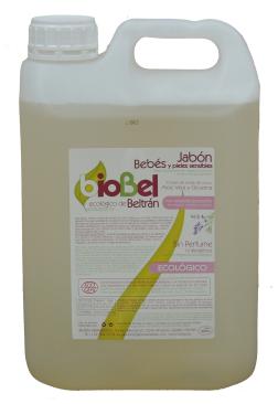 Jabón bebés y pieles delicadas eco Biobel 5l.