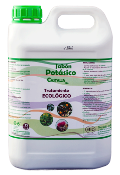 Solución potásica bio Castalia garrada 5 litros