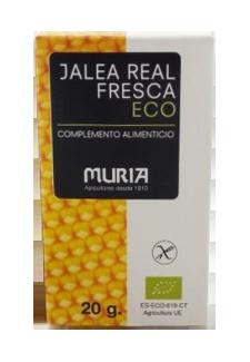 Jalea real fresca Muria 20g.