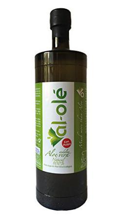 Jugo de Aloe Vera con pulpa ecológico Al-Olé