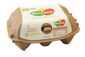 Huevos frescos (media docena) Liber eco 6x53g.