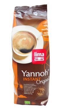 Café cereales Instant Yannoh Lima 250g.