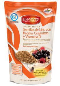 Semillas de Lino con probióticos y vitamina D Linwoods