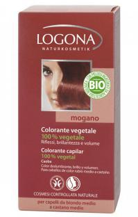 Colorante vegetal en polvo Caoba Logona 100g.