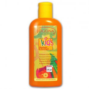Champú y Gel ducha kids Logona 200ml.