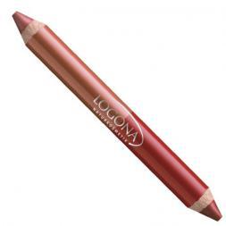 Lápiz labios dúo ruby red Logona