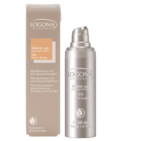 Maquillaje fluido 05 warm beige Logona