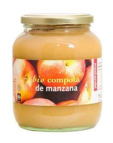 Compota de manzana bio Machandel 700g.