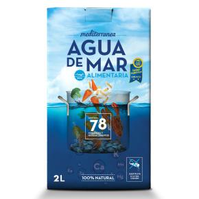 Agua de mar Mediterránea 2 litros
