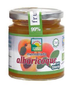 Mermelada de albaricoque con stevia Abellán 235g.