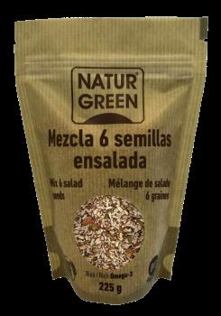 Mezcla 6 semillas Naturgreen 225g.