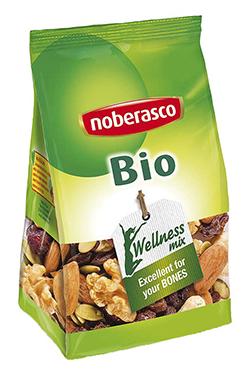 Mezcla frutos secos ecológicos Noberasco 175g.