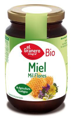 Miel de mil flores bio El Granero Integral 500 gramos