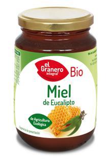 Miel de Eucalipto El Granero Integral 500g.