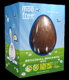 Huevo pascua vegano Moo Free 120g.