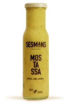 Mostaza vegana Sesmans 240g.