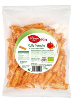 Snack Biorolls tomate El Granero Integral