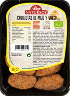 Croquetas de mijo y queso Natursoy 220g.