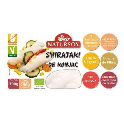 Shirataki de konjac Natursoy 300g.