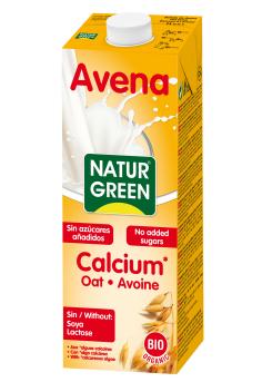 Bebida de avena con calcio Naturgreen 1l.