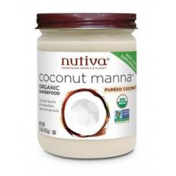 Manteca de coco Nutiva 445ml.