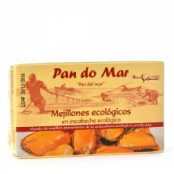 Mejillones en escabeche Pan do Mar 115g.