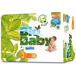Pañales Bio baby Talla 1 recién nacidos