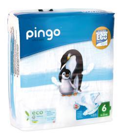 Pañales Pingo T6 talla 6 XL