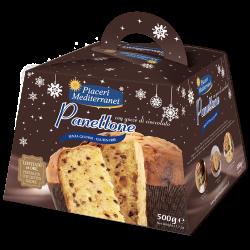 Panettone chocolate sin gluten Piaceri Mediterranei